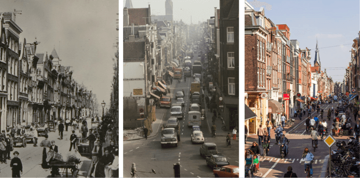 The evolution of Amsterdam
